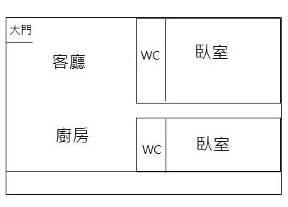 新市貝森朵夫2房寓,台南市新市區社內